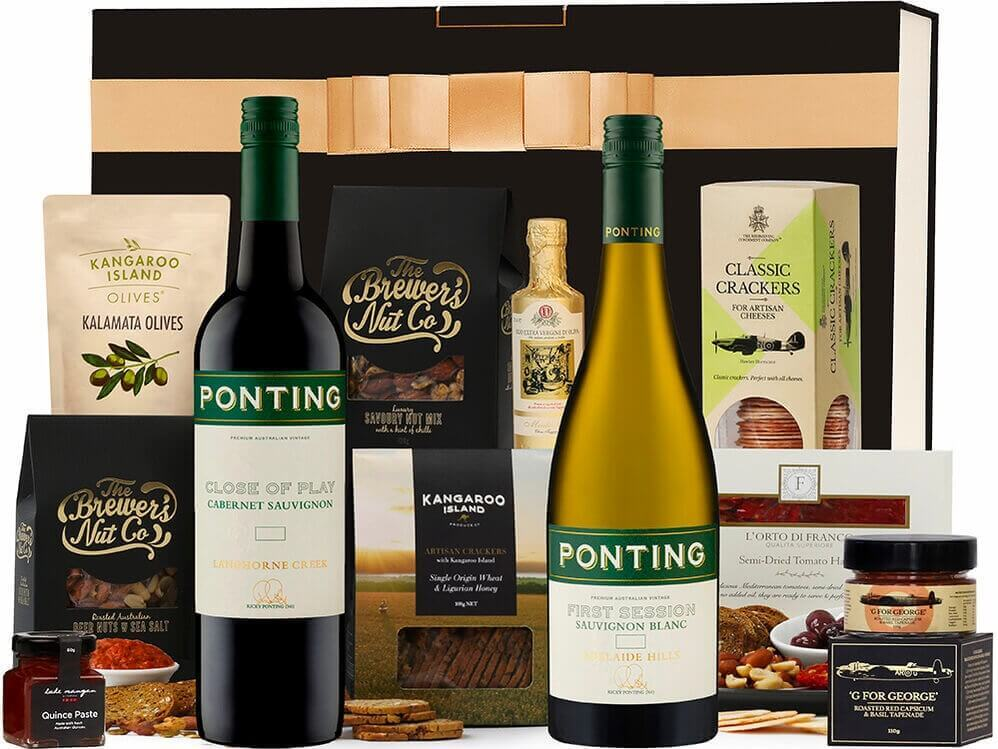Ponting Red & White Nibbles Hamper