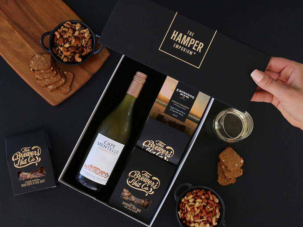 Australian White Wine Hamper