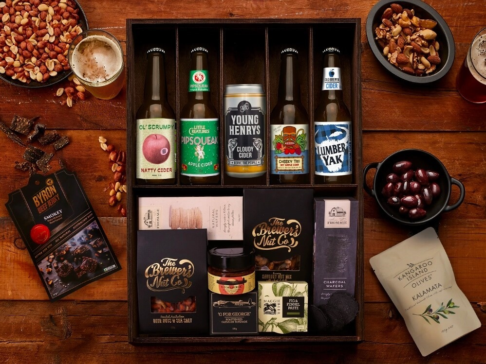 Cider Gift Basket