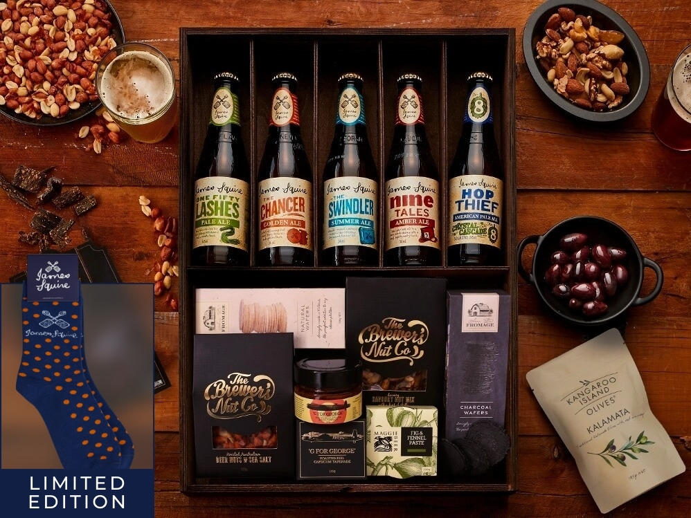 James Squire Ale Hamper