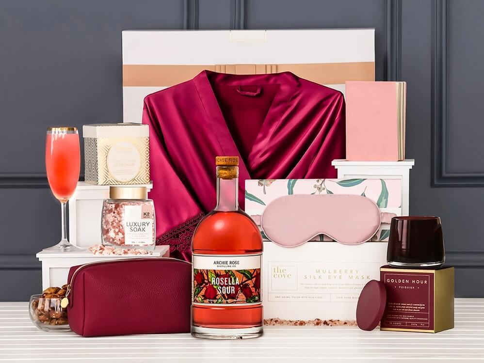 Cocktails and luxury robe for Easter