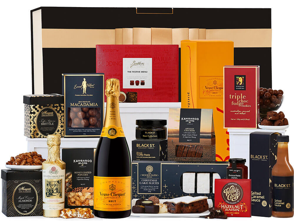Christmas Foodies With Veuve Hamper
