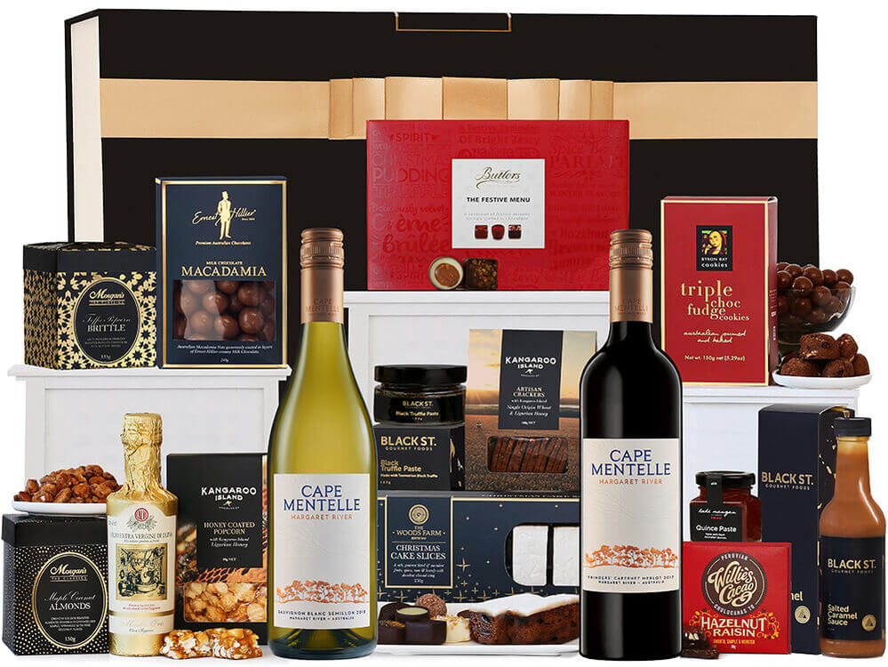 A Cape Mentelle Christmas Hamper