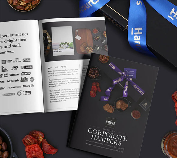 Branded corporate gift hampers