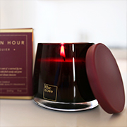 The Cove 'Golden Hour' Soy Wax Candle