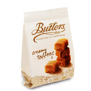 Butlers Creamy Toffee Bag 125g