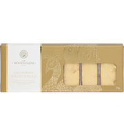 The Woods Farm Macadamia Pure Butter Shortbread 175g