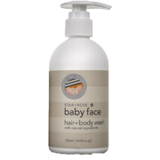 Star & Rose Baby Face Hair & Body Wash