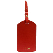 Personalised Red Luggage Tag
