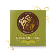 Willie's 70% Dark with Ginger & Lime 50g